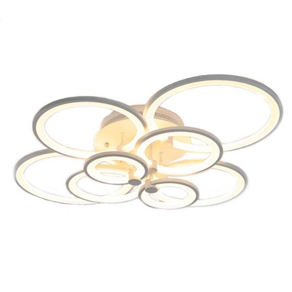 Lustra LED Circle Design 8 Cercuri cu telecomanda [2]